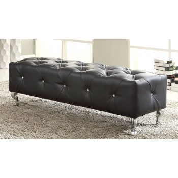Maria Bench, Black by At Home USA