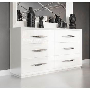 Carmen Double Dresser, White