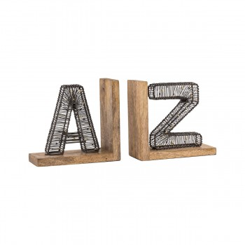 Woodbury Bookend, Set of 2