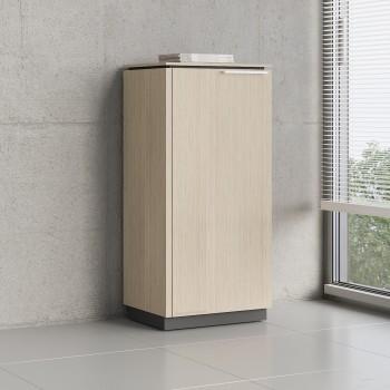 Status 1 Left Door Storage Cabinet X36, Canadian Oak