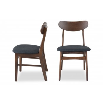 Gramercy Mid-Century Modern Dining Chair, Set of 2