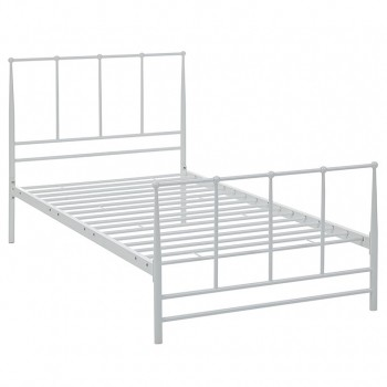 Estate Twin Bed, White by Modway
