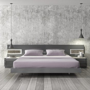 Braga Queen Size Bed by J&M Furniture
