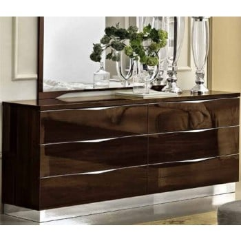 Onda Double Dresser, Walnut