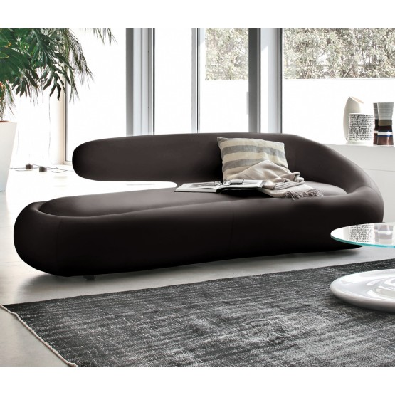 Duny Sofa, Grey Leather photo