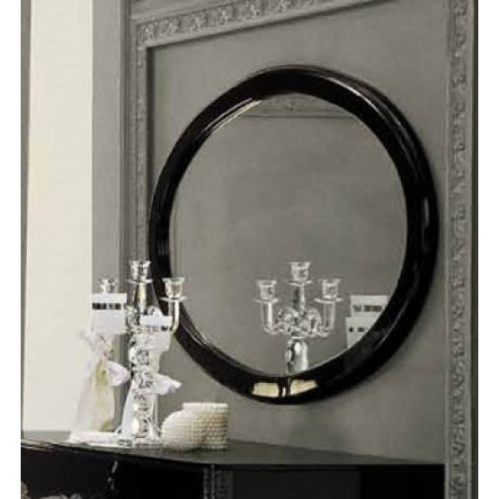 Magic Oval Mirror, Black photo