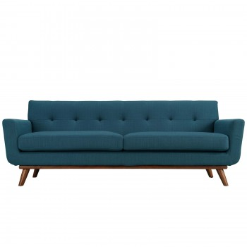 Engage Upholstered Sofa, Azure by Modway