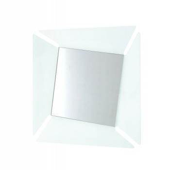Callas Square Mirror, Transparent