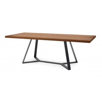 "Archie 93.75"" Table, Walnut"
