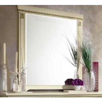 Treviso Rectangular Mirror, White Ash