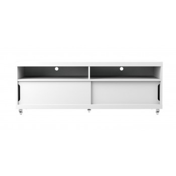 "Batavia 53.14"" TV Stand, White Gloss"
