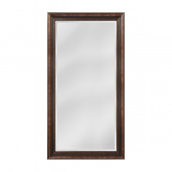 Crown Molding Pattern Wood Frame Mirror