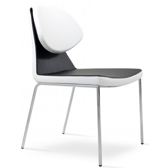 Gakko Chair, Chrome, Black & White PPM photo
