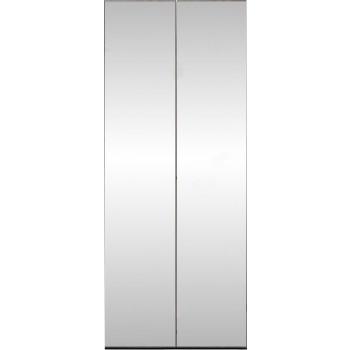 Platinum 2-Door Wardrobe w/Mirror