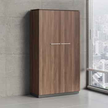 Status 2 Door Storage Cabinet X51, Lowland Nut