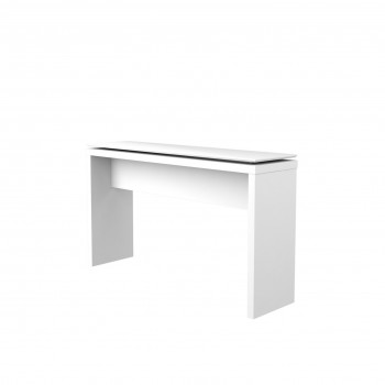 Lincoln Console Table, White