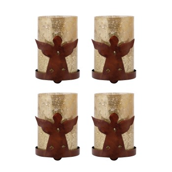 Angel Votive, Set of 4