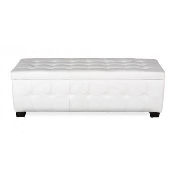 Athens Bench, White