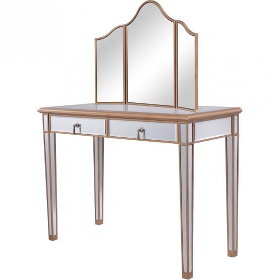 Contempo MF6-2003G Vanity Table Set photo