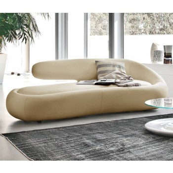 Duny Sofa, Beige Leather