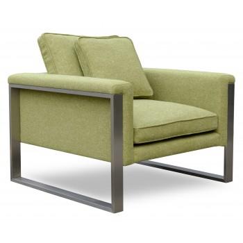 Boston Armchair, Green Camira Wool by SohoConcept Furniture