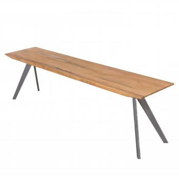 Pollux KD Bench, Antique Woodland