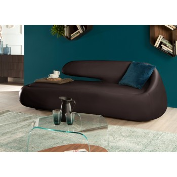 Duny Sofa, Dark Brown Eco-Leather