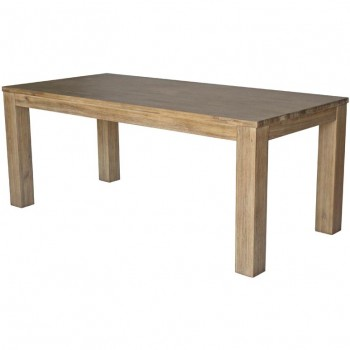 "Bedford 75"" Rectangular Dining Table w/Square Legs by NPD (New Pacific Direct)"