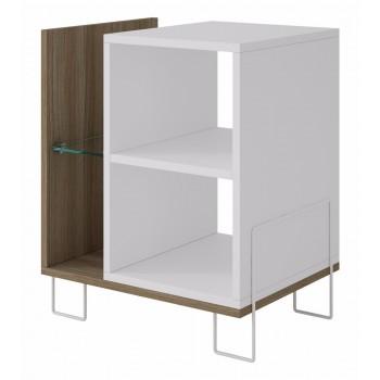 Boden Bookcase 2.0, Oak + White