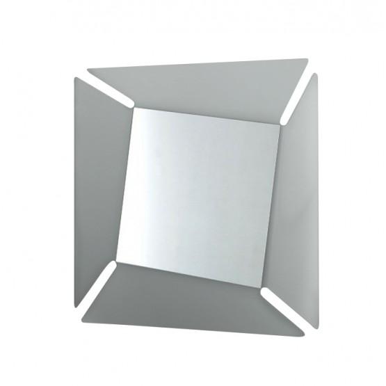Callas Square Mirror, Transparent Smoked Grey photo
