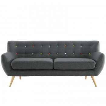 Remark Sofa, Gray by Modway