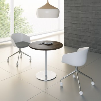 Mito Meeting Table MIT10, Dark Sycamore