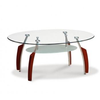 T138MC Coffee Table, Mahogany by Global Furniture USA