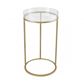 Hyperion Round Accent Table