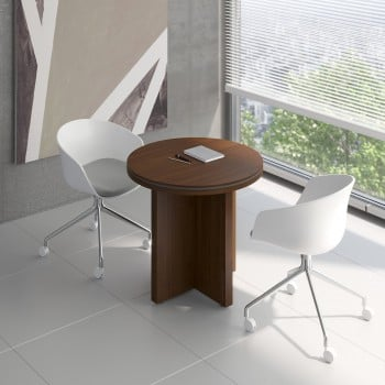 Status Small Table X22, Chestnut