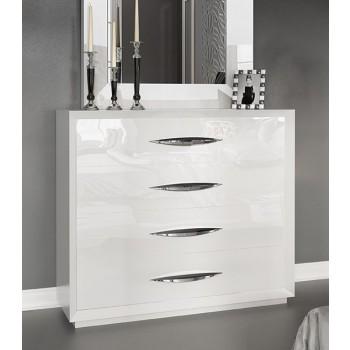 Carmen Single Dresser, White