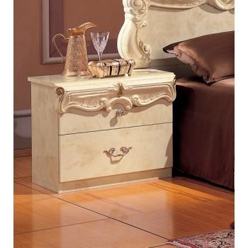 Barocco Nightstand, Ivory
