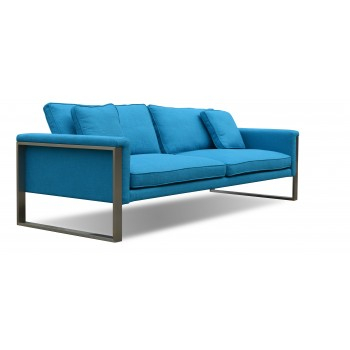 Boston Sofa, Turquoise Fabric by SohoConcept Furniture
