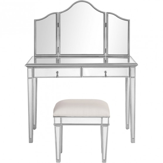 Contempo MF6-2002S Vanity Table Set photo