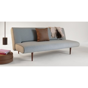 Unfurl Sofa Bed, 552 Soft Pacific Pearl Fabric
