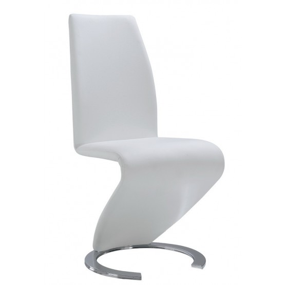 D9002-WH Dining Chair, White photo