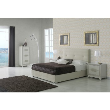 881 Lourdes 3-Piece Euro King Size Storage Bedroom Set