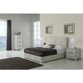 881 Lourdes 3-Piece Euro Queen Size Storage Bedroom Set