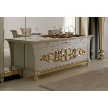 Gocce Di Luce 3-Door Sideboard w/Drawers