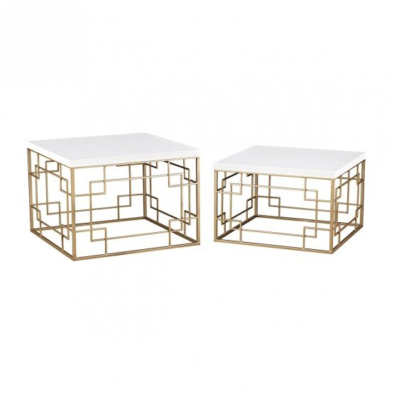 Sugar City Set of 2 Accent Tables photo