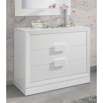 C128 Dresser, White