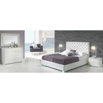 636 Alma 3-Piece Euro Queen Size Bedroom Set