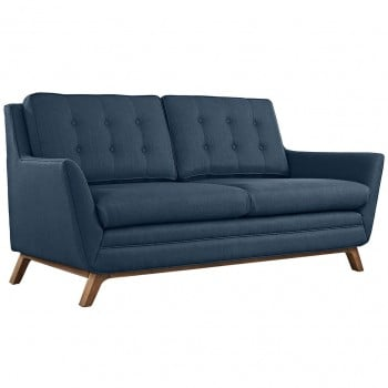 Beguile Fabric Loveseat, Azure by Modway