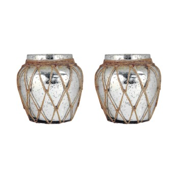 Cassieo Pillar Holder, Set of 2