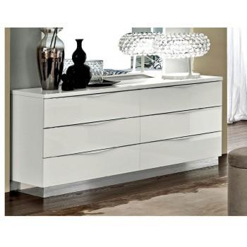 Onda Double Dresser, White
